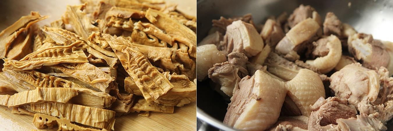 Trời lạnh làm nồi vịt kho măng ăn vừa ngon vừa ấm bụng - Ảnh 3.