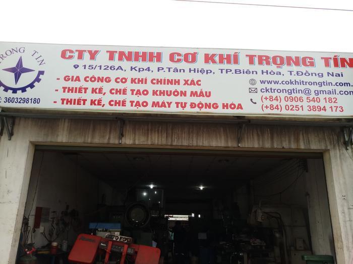 Xưởng gia công cơ khí bạn nên chọn tại Trọng Tín