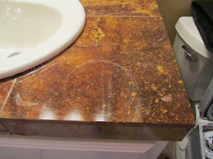 Etched Marble Not Stained Dallas|Plano