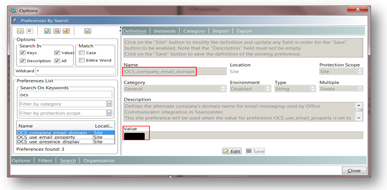 Teamcenter integration with Microsoft Office Communicator