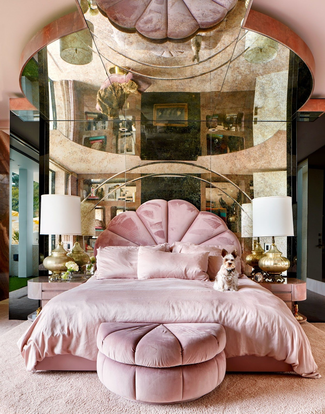Seashell Bed Style