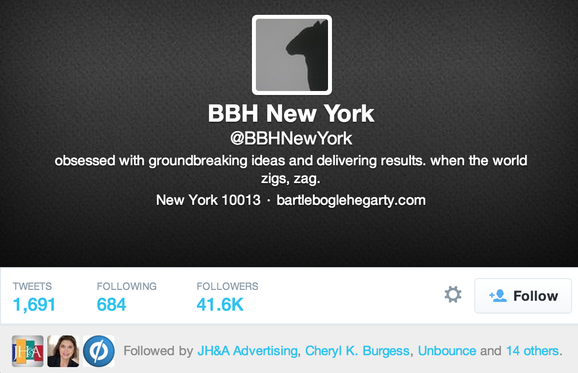 Top 20 Agency Twitter Accounts to Follow | UpCity
