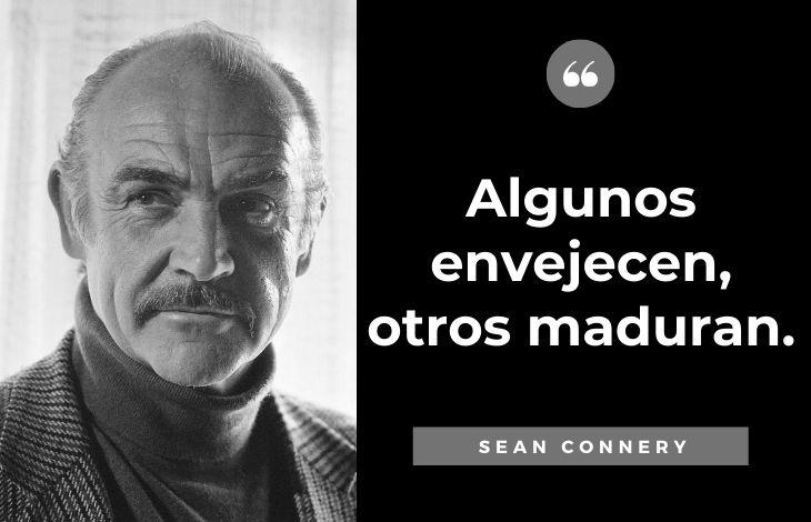 Frases de Sean Connery Sobre la edad