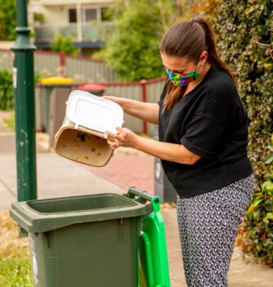 Empty your food waste - Brunswick Daily