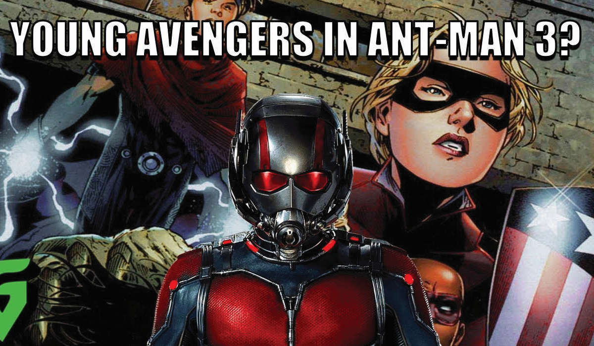 The Young Avengers appear Ant-Man 3