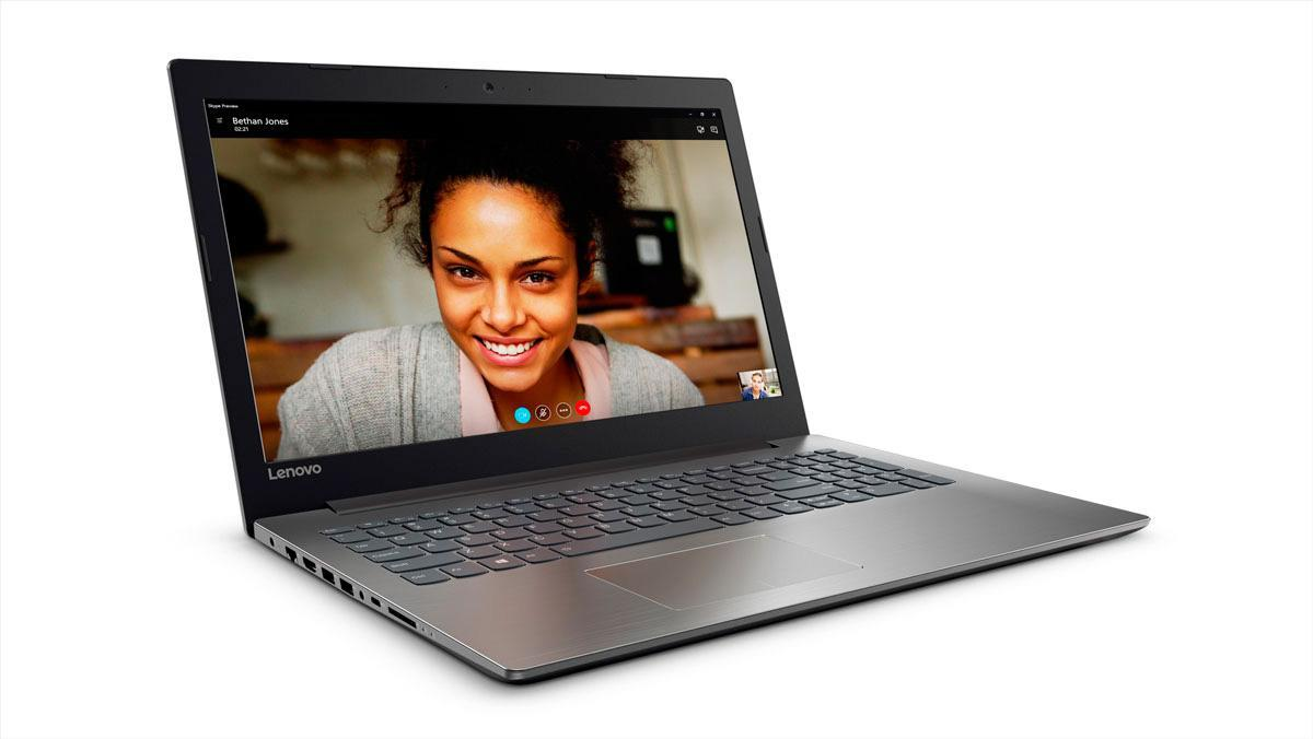 Фото2  Ноутбук Lenovo IdeaPad 320-15 Onyx Black (81BG00QHRA)