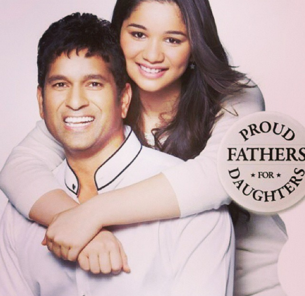 She's definitely proud to be the daughter of Sachin Tendulkar.