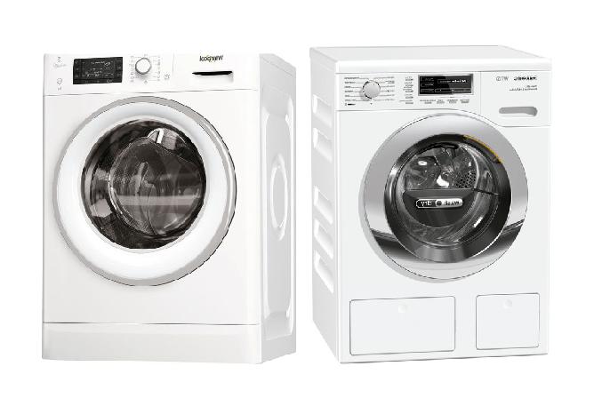 Calificación de las mejores lavadoras-secadoras: top 10 modelos