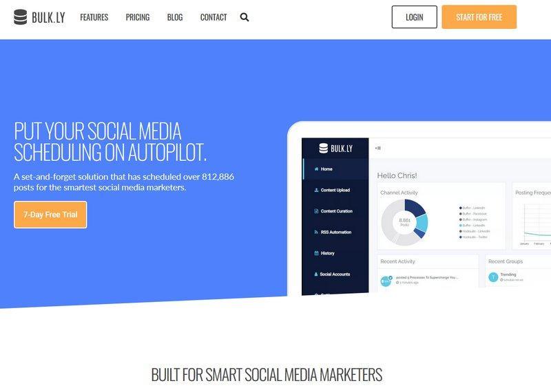 Bulk.ly сервис мониторинга социальных сетей