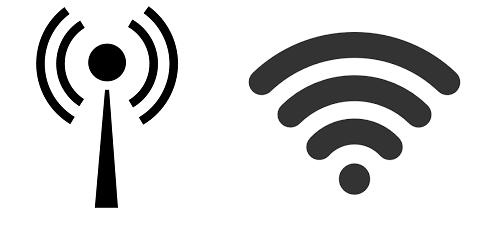 a wifit jelző ikon a billentyűzeten