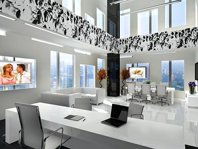Thiết kế nội thất văn phòng thông thoáng theo từng nhóm nhỏ