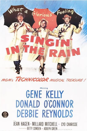 Poster of Singing in the Rain.