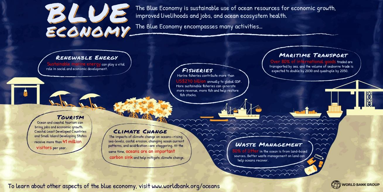 Image result for Blue economy