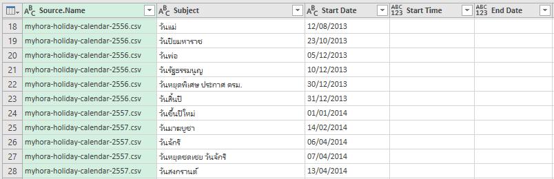 บทที่ 18 : การดึงข้อมูลจากทุก File ที่ต้องการใน Folder 8