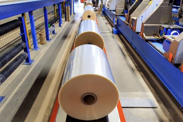 AN CA có quy trình sản xuất màng nhựa bopp hiện đại