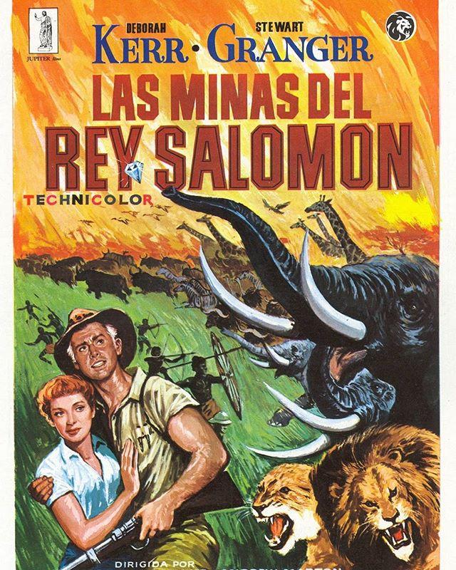 Las minas del rey Salomón (1950, Andrew Marton y Compton Bennett)