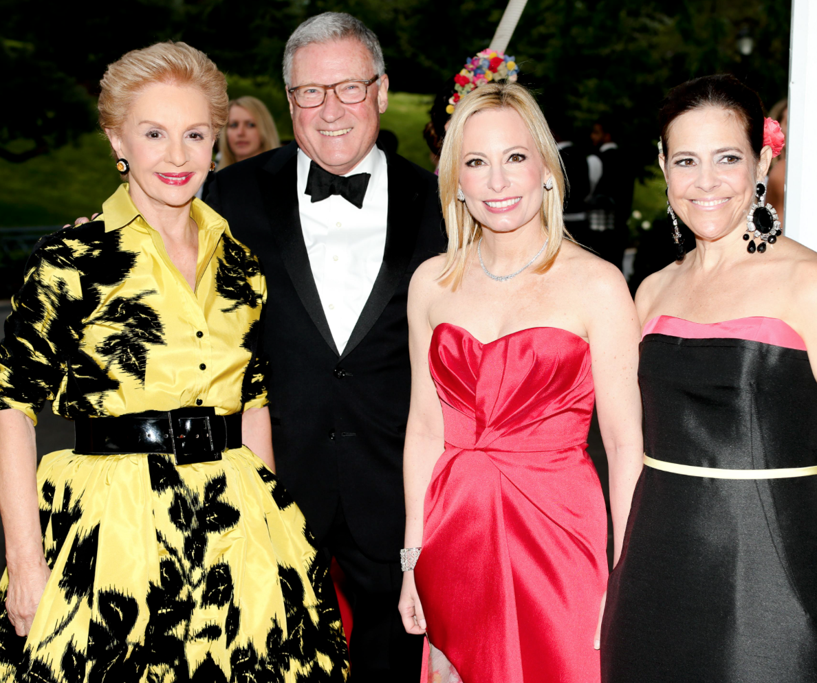 Karen Klopp and Hilary Dick article for New York Social Diary, New York Botanical Garden, Conservatory Ball, Georgia O'Keefe.  Carolina Herrera, Gregory Long