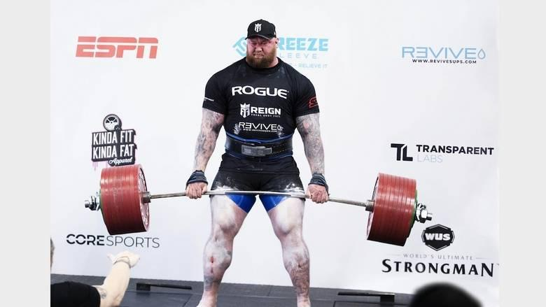 Mountain top: 'Game of Thrones' actor sets deadlift record - News ...