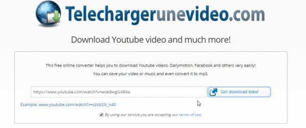 قم بتنزيل مقاطع فيديو YouTube من خلال موقع TelechargerUneVideo