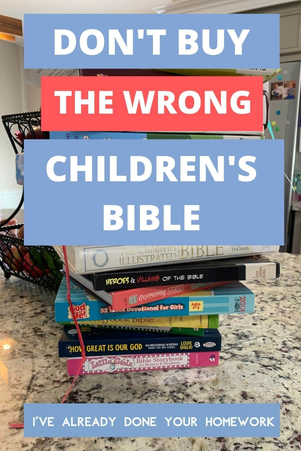 best children's bible by age pin