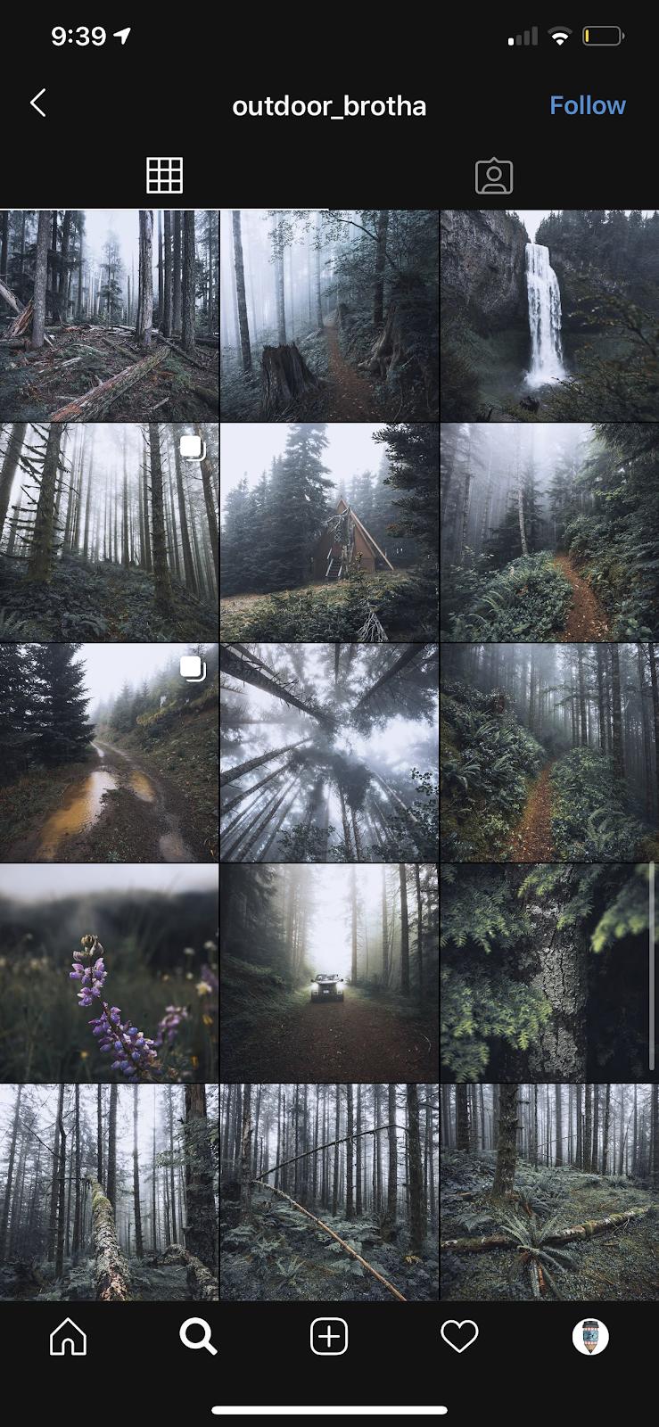 gloomy theme