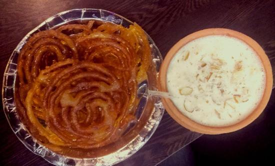 Image result for doodh jalebi
