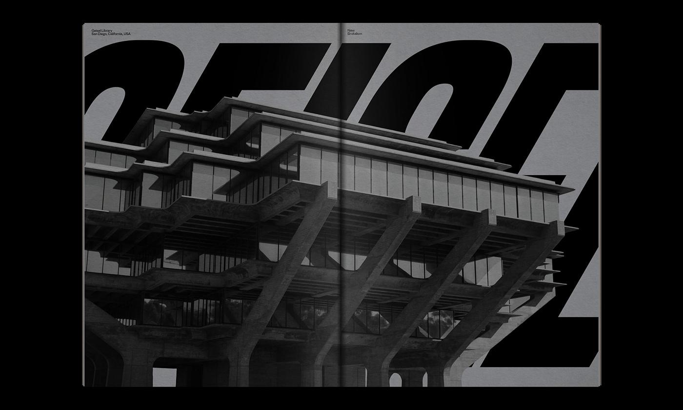 Editorial Design : New Brutalism Controversial Concrete 18