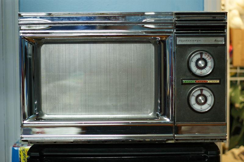 An old school microwave from Radarange.