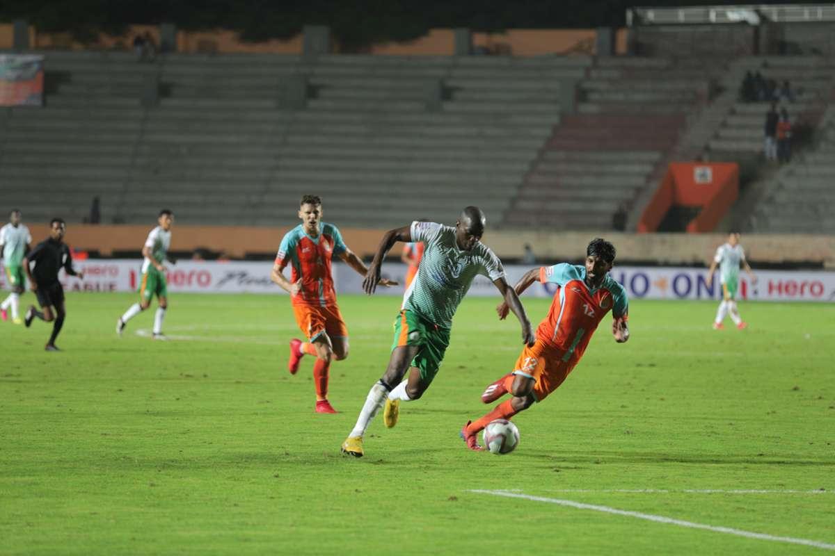 A snapshot from NEROCA vs Chennai City in the last I-League season