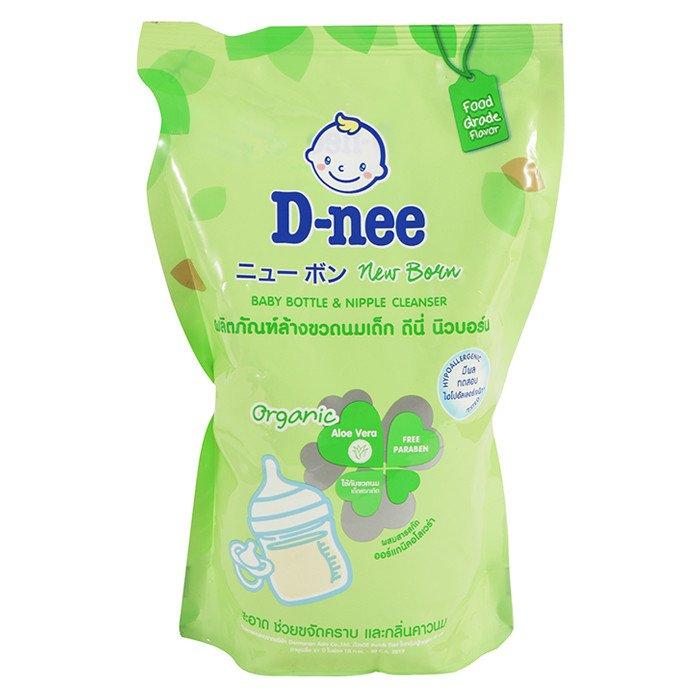 1. D-nee น้ำยาล้างขวดนม Baby Bottle & Nipple Cleanser