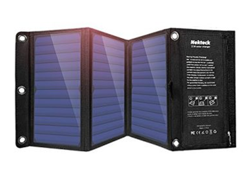 Зарядное устройство на солнечных батареях.