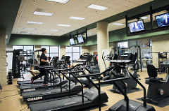 Gym or fitness center