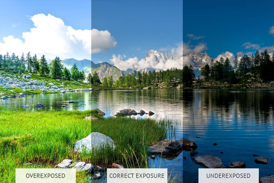 image exposure correction
