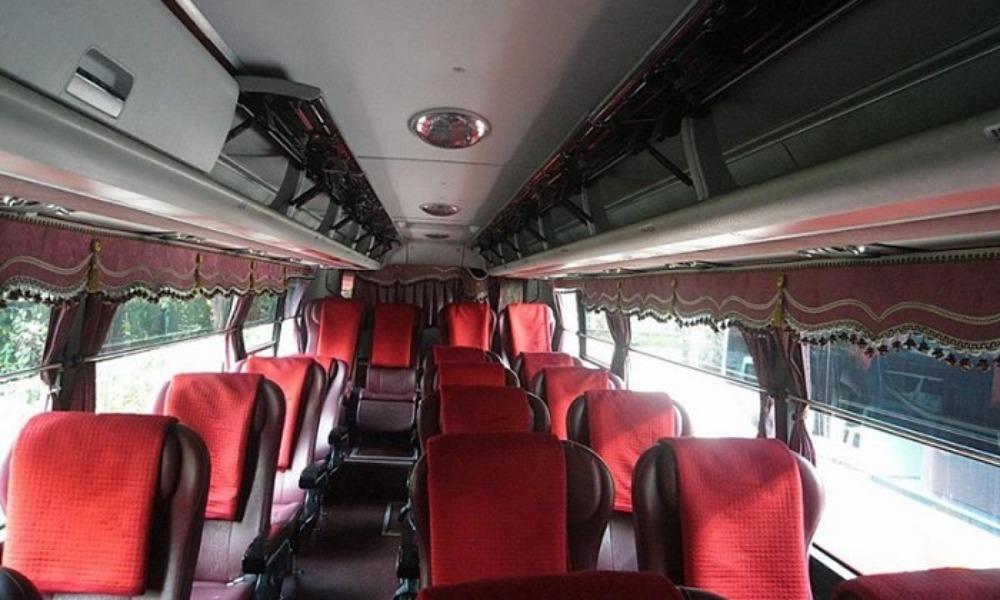 Nội thất xe Văn Lang đi Cần Thơ từ Vũng Tàu