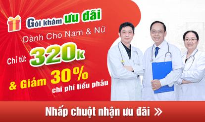 Đăng ký gói khám chữa sùi mào gà ưu đãi tại phòng khám Thái Hà