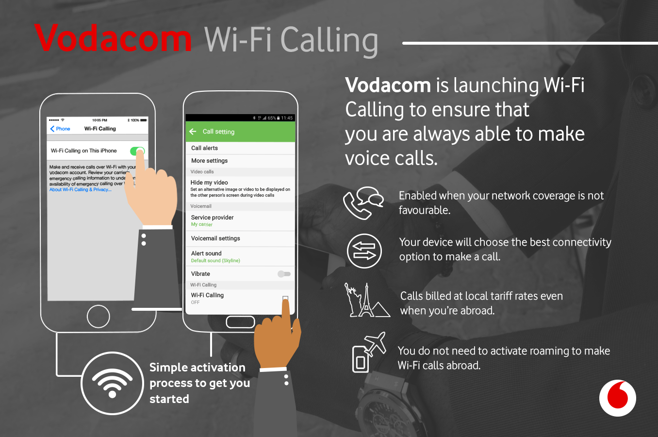 Vodacom Now!: Stay in touch with Wi-Fi Calling from Vodacom