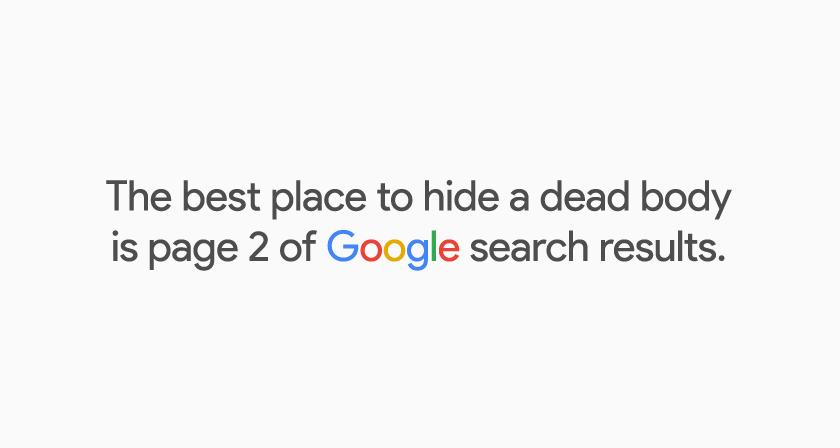 Pagina twee van de zoekresultaten
