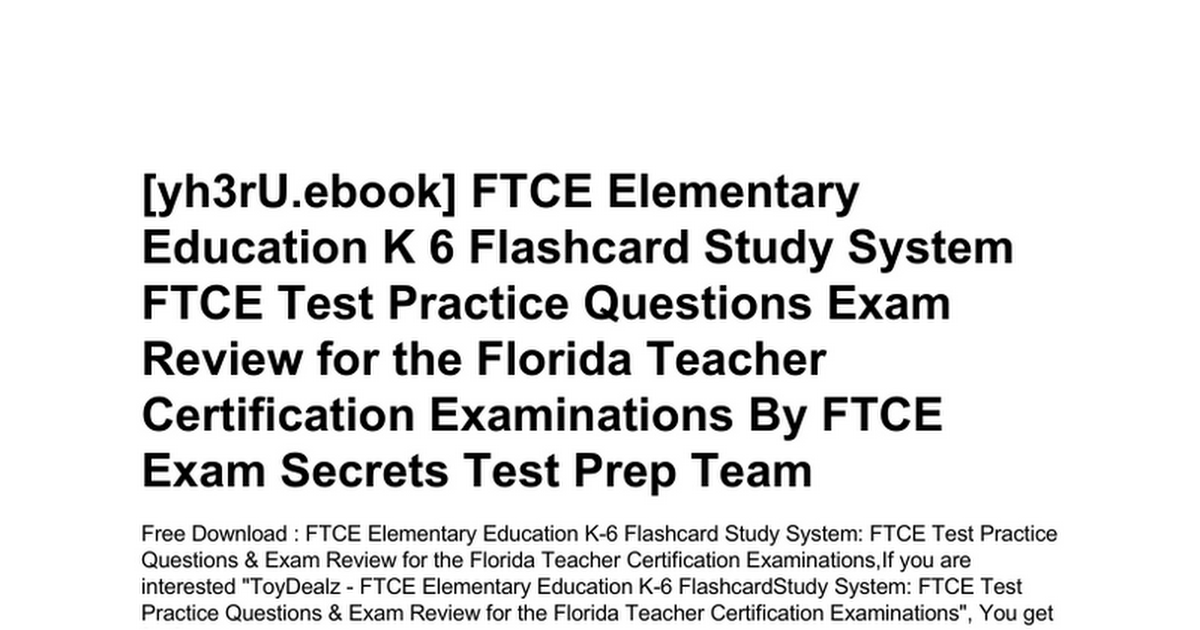 Get Quotations Ftce Middle Grades Integrated Curriculum 5 9 Practice Questions Tests Exam