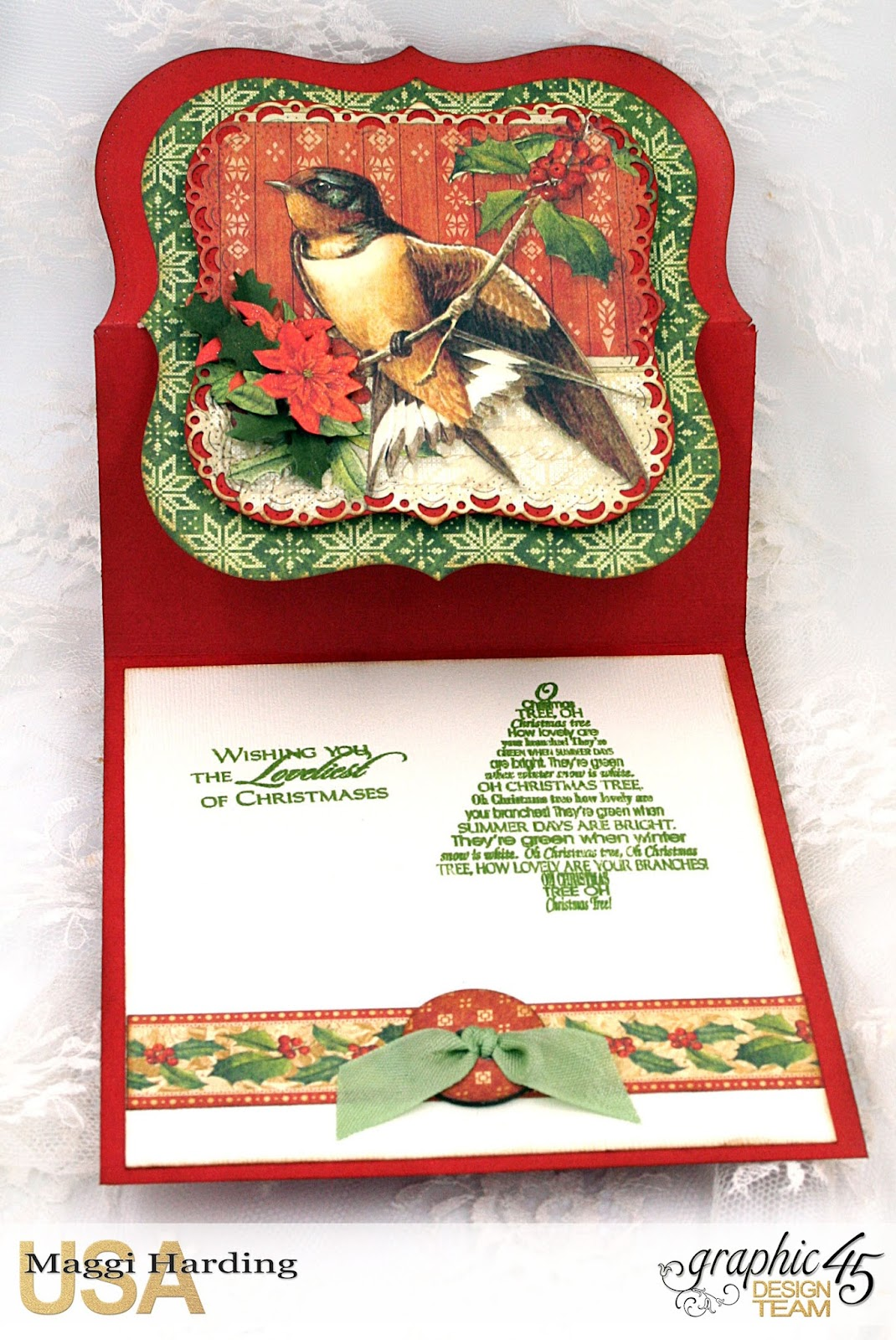 Easel Card, Winter Wonderland, Maggi Harding, Graphic 45 (2).jpg