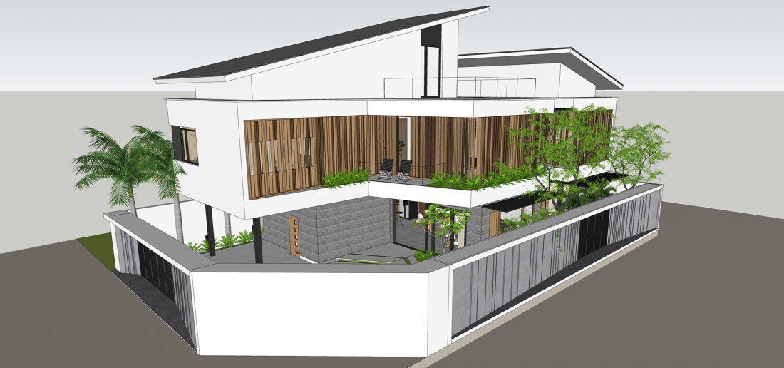 Hồ sơ thiết kế kiến trúc nhà 2 tầng gồm những gì ?