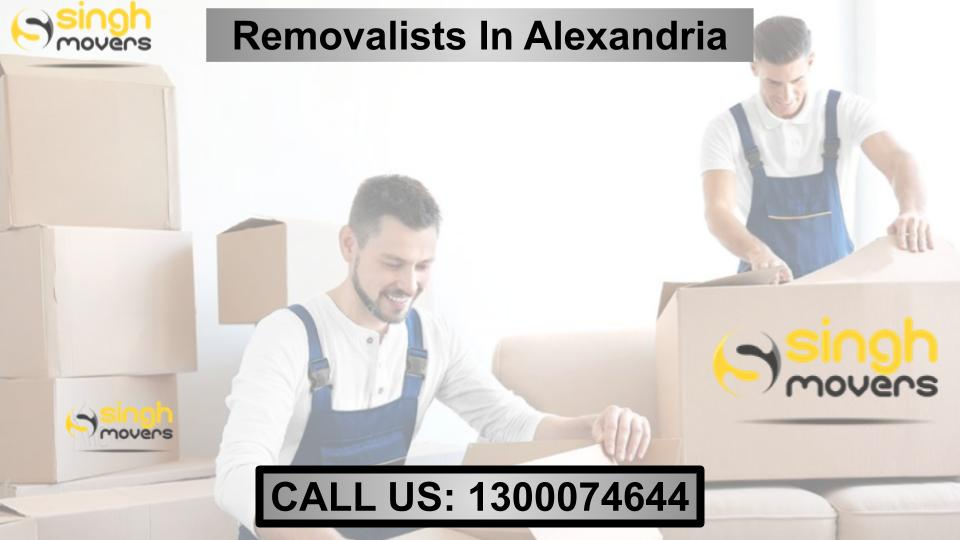 REMOVALISTS IN ALEXANDRIA