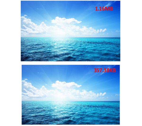 Photo Compressed Comparison