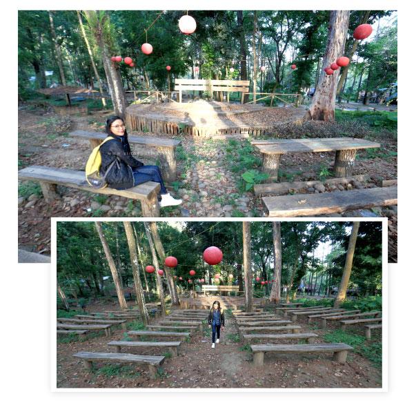 Wisata alam indah di pemandian dan hutan pinus tasnan Bondowoso