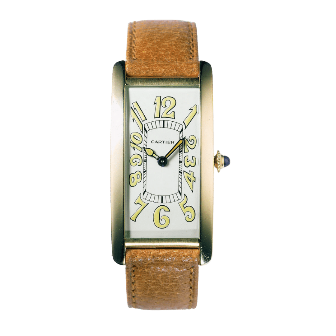 Photo of a Cartier Tank Cintrée watch
