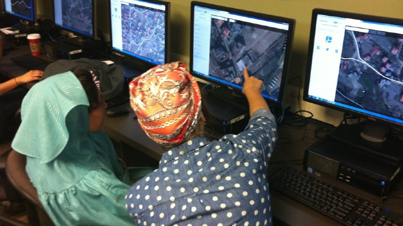 Combining maps, data, and local knowledge to improve humanitarian response