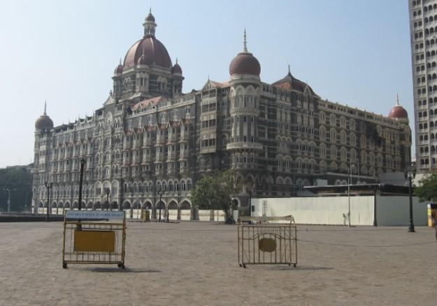 Taj Hotel in Mumbai were attacks took place