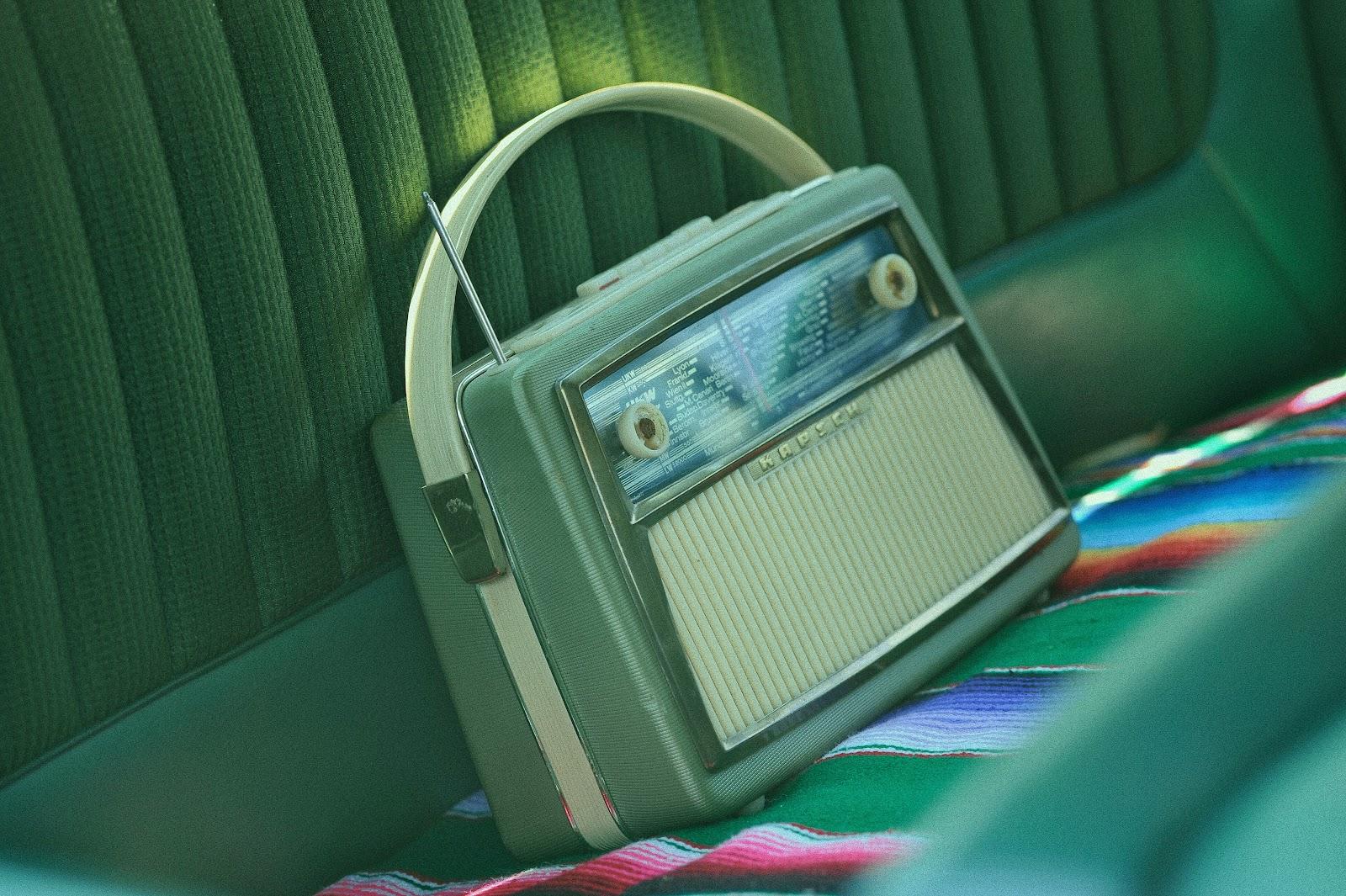 Old Cassette Radio