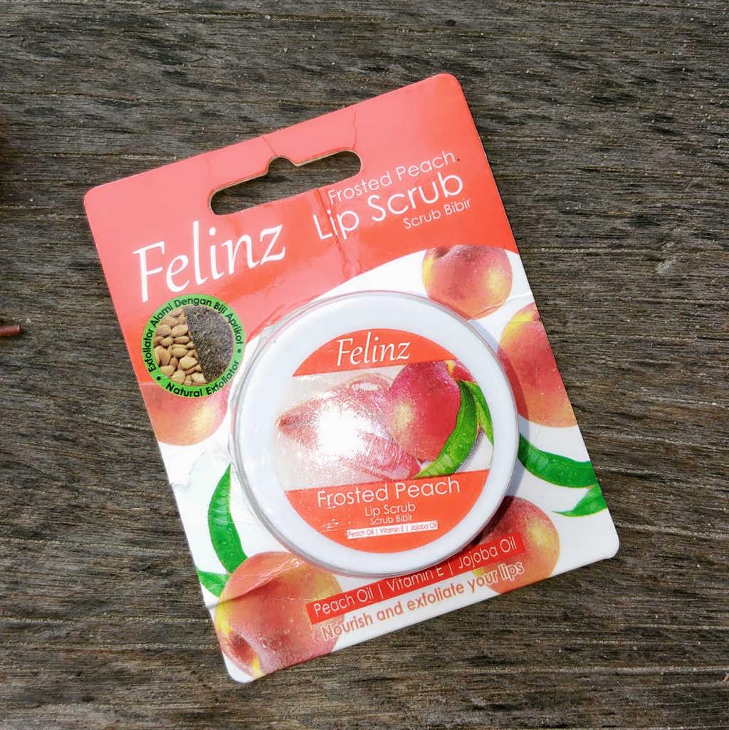 Felinz Lip Scrub Frosted Peach