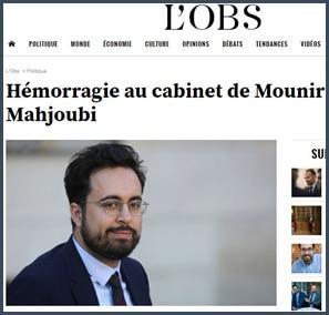 hémorragie cabinet Mounir Mahjoubi
