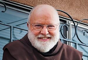 Fr. Richard Rohr on his porch